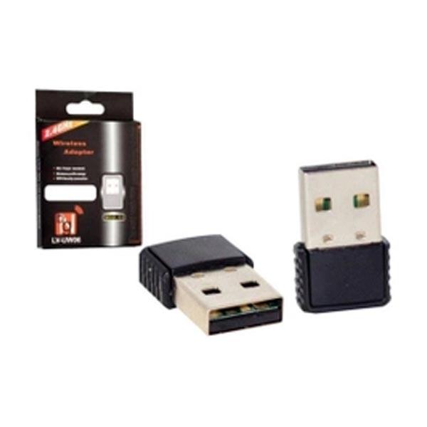 Adaptador Wireless USB 2.0 802.11N, NANO, 2.4Ghz.