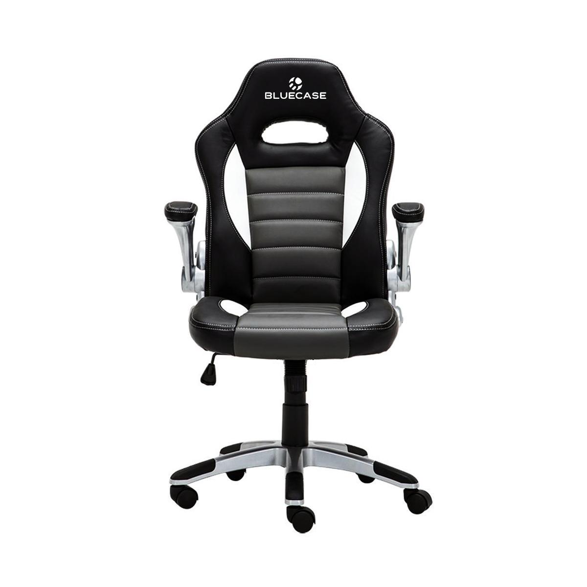 Cadeira Gamer Bluecase BCH-23BK Silver Preta