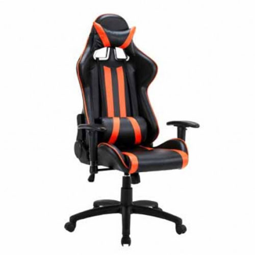 Cadeira Gamer Bluecase Laranja/Preto Gold BCH-01OBK