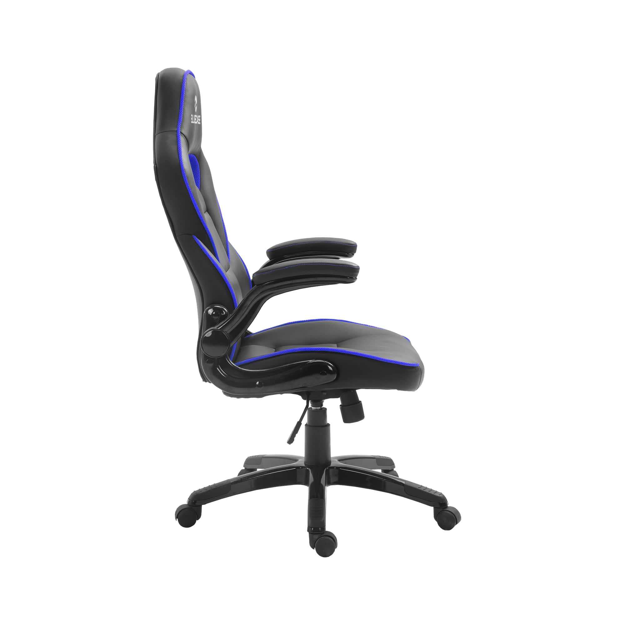 Cadeira Gamer Bluecase Mercury Azul/Preto, - BCH-44BBK
