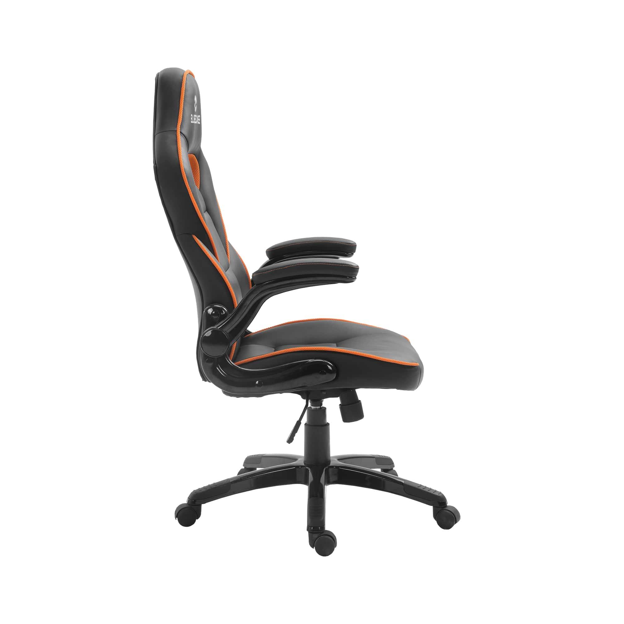 Cadeira Gamer Bluecase Mercury Laranja/Preto - BCH-41OBK