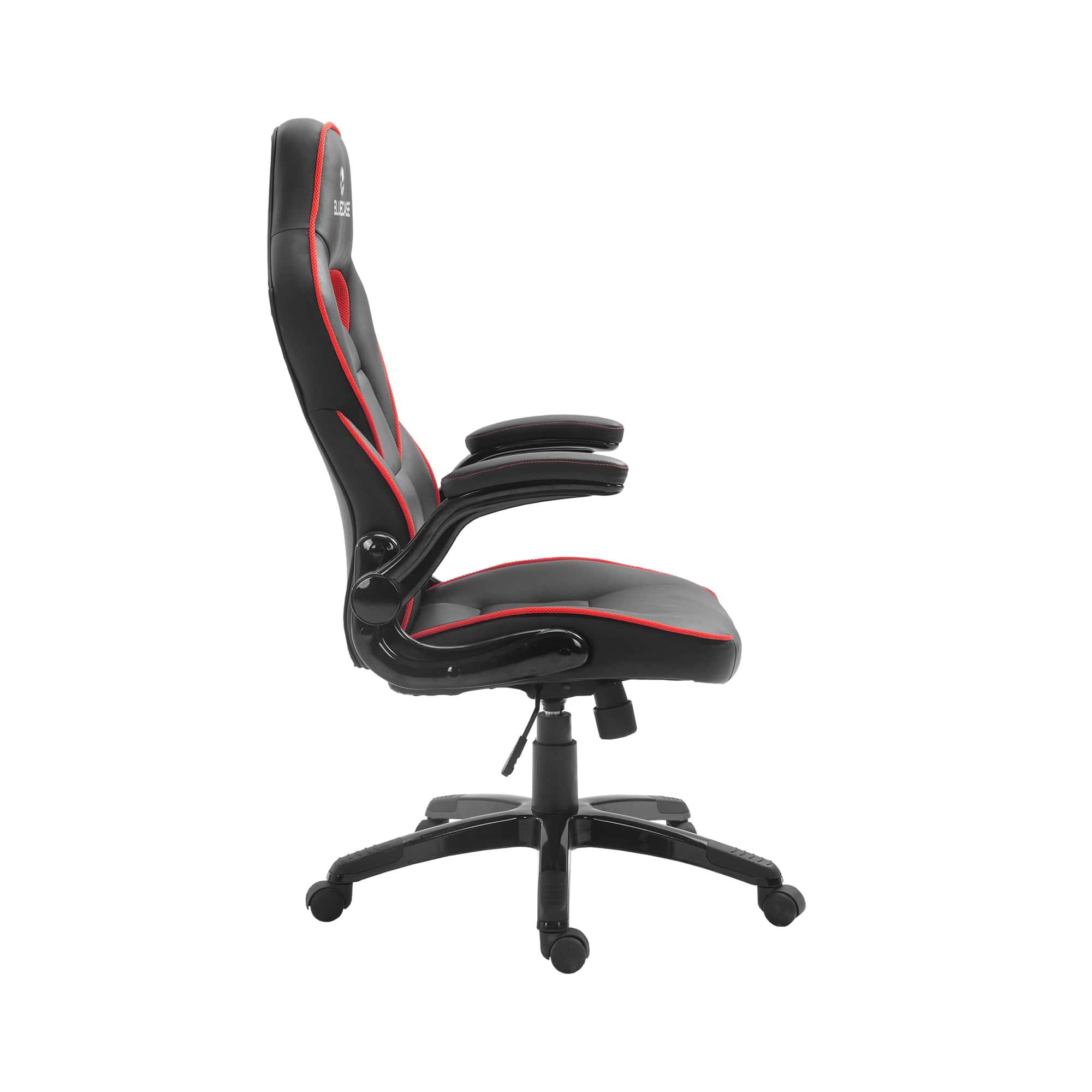 Cadeira Gamer Bluecase Mercury Vermelho/Preto - BCH-43RBK