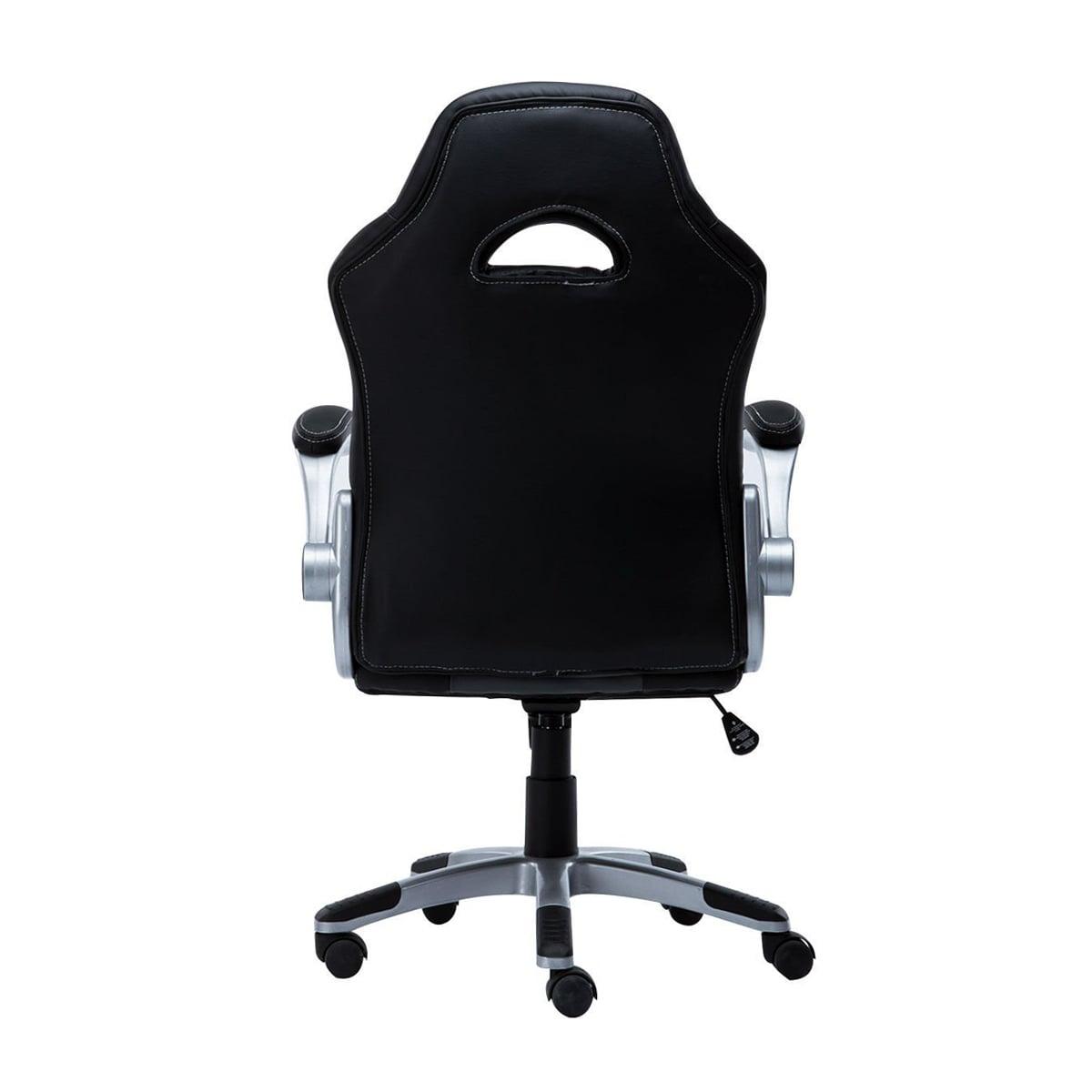 Cadeira Gamer Bluecase Silver Branco/Cinza/Preto - BCH-04WGYBK