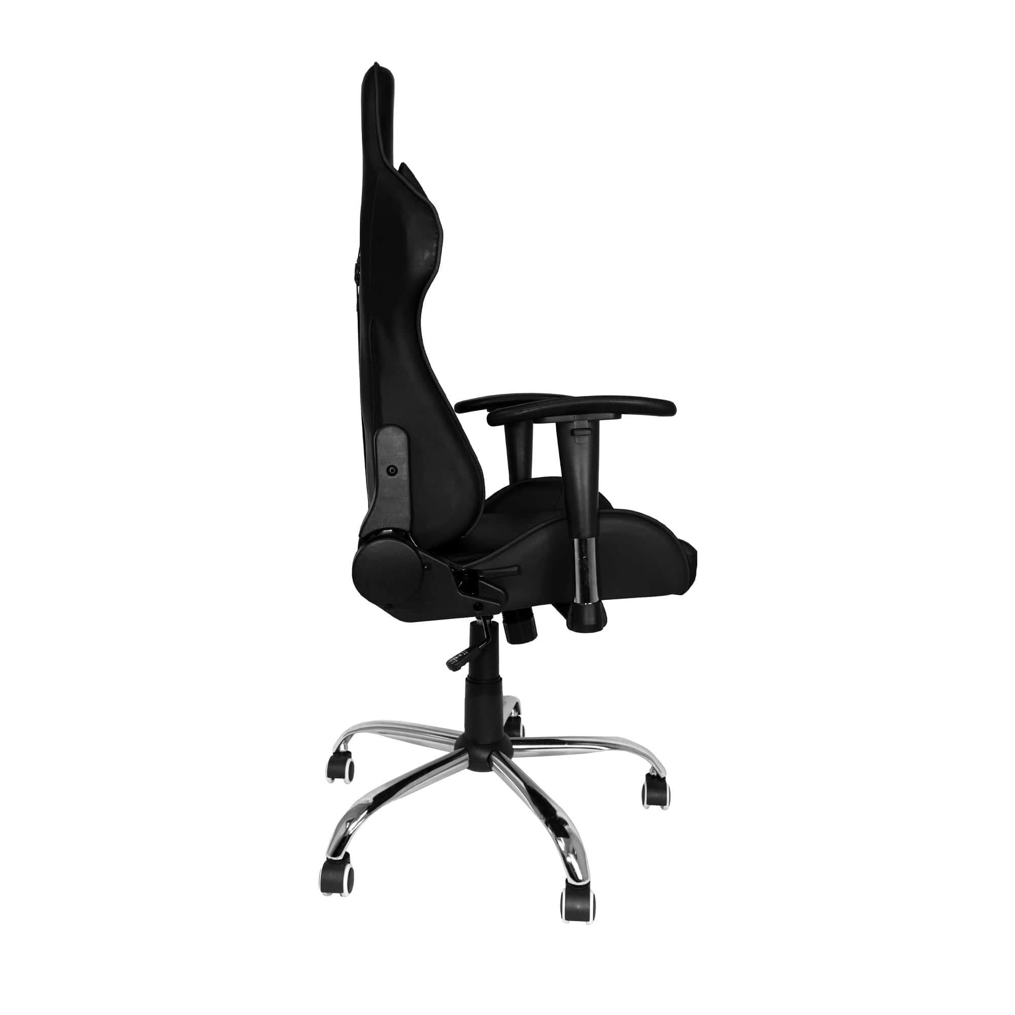 Cadeira Gamer Bluecase Titanium BCH-47BK, Reclinável, Preta.