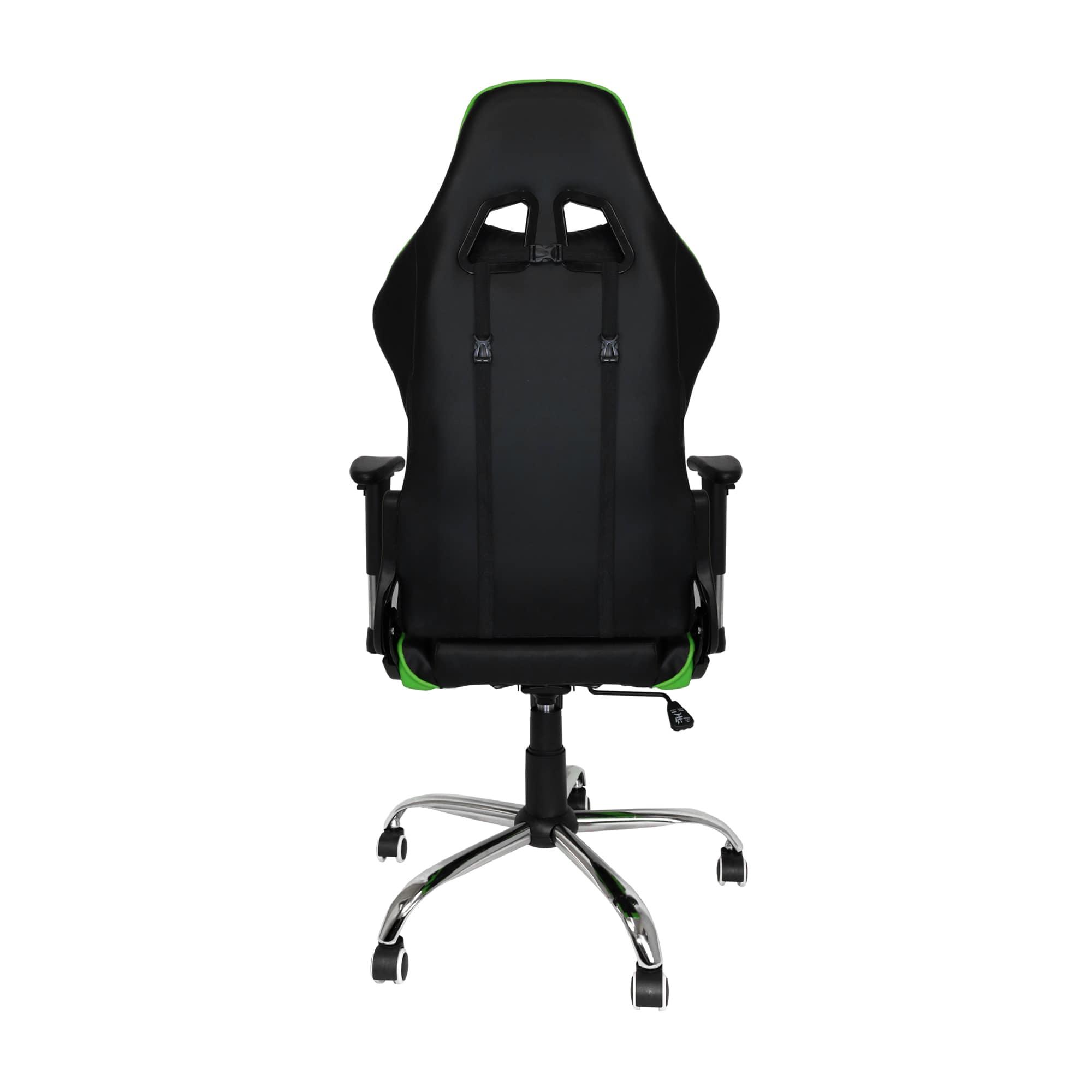 Cadeira Gamer Bluecase Titanium Verde/Preto BCH-22GBK