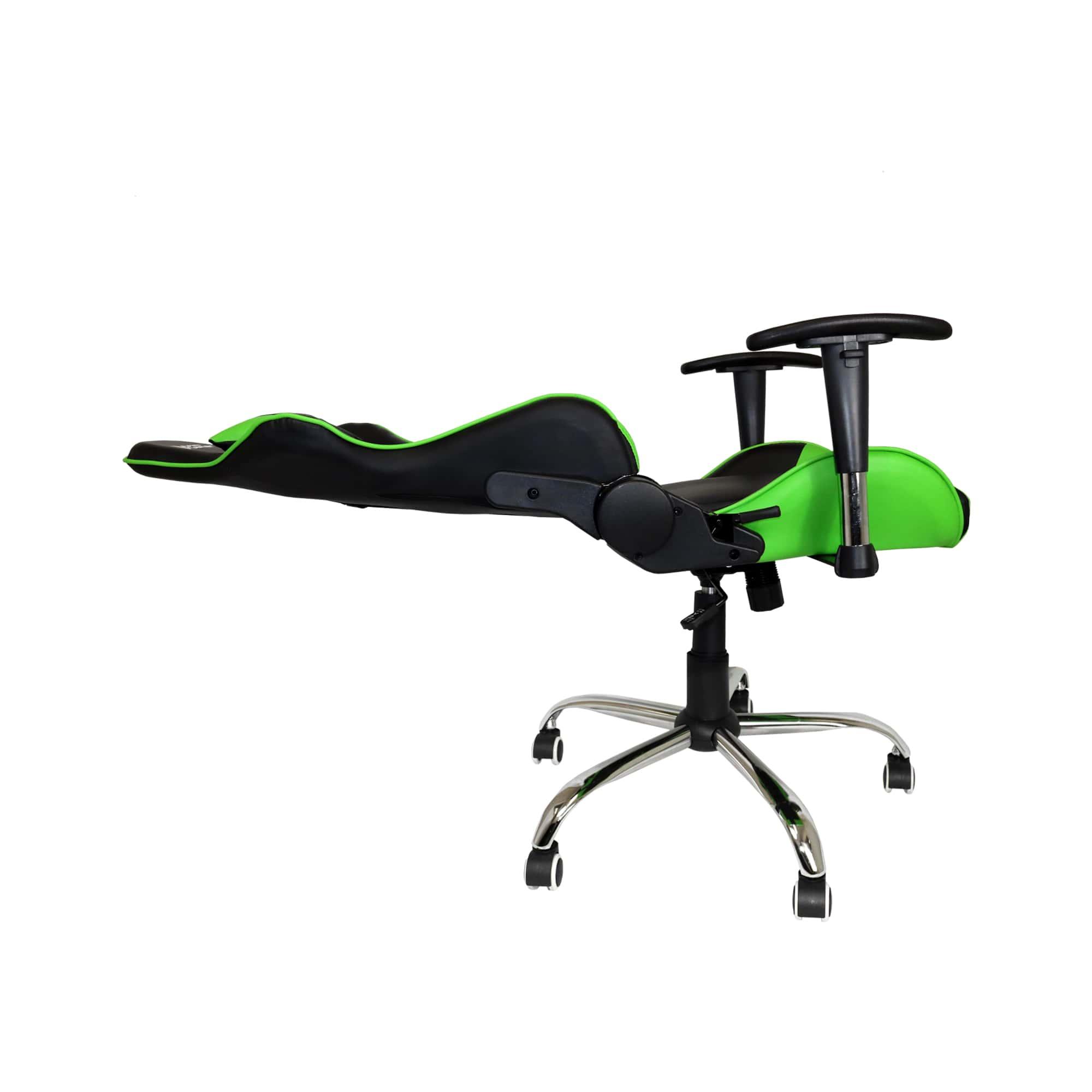 Cadeira Gamer Bluecase Titanium Verde/Preto - CH-22GBK