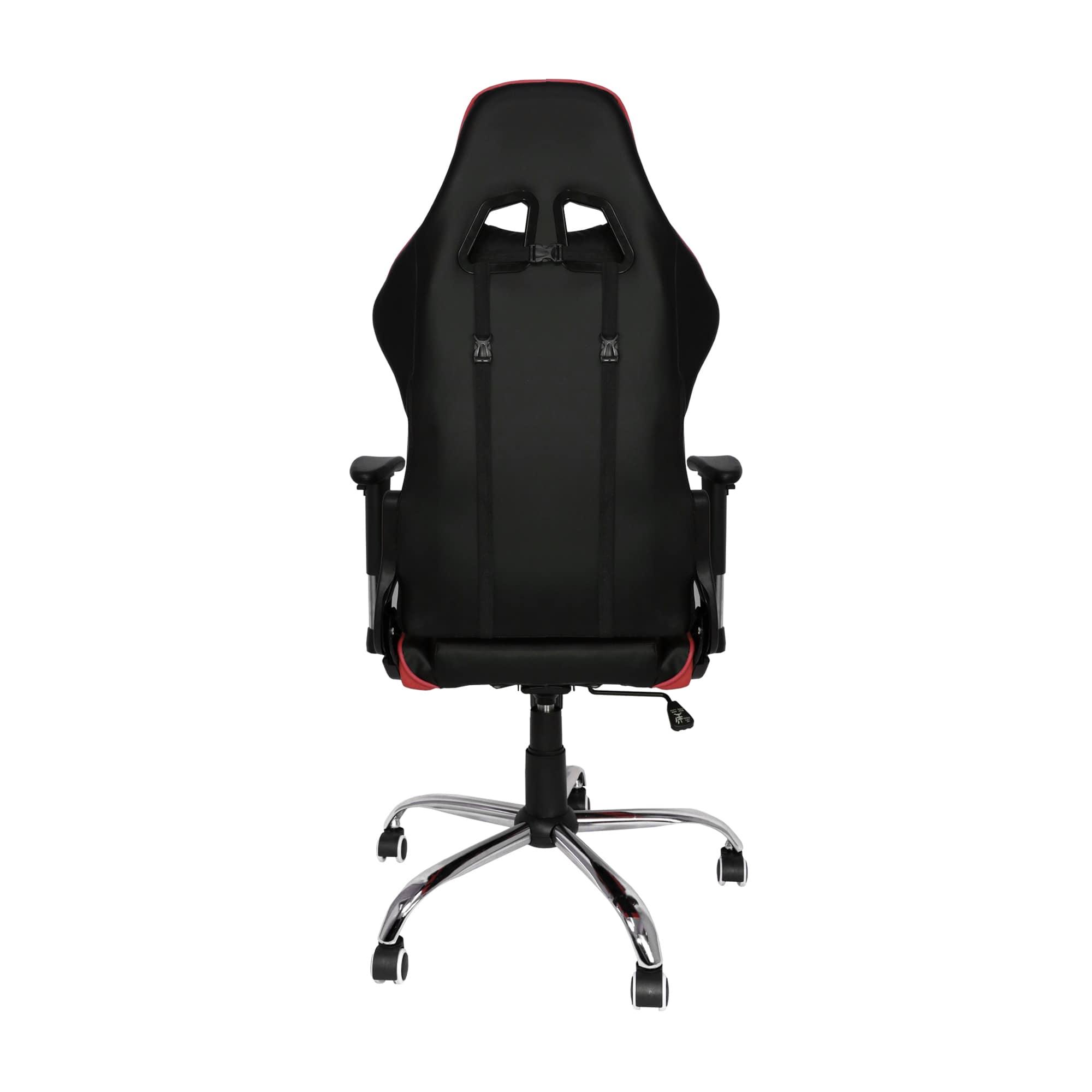 Cadeira Gamer Bluecase Titanium Vermelho e Preto - BCH-07RBK