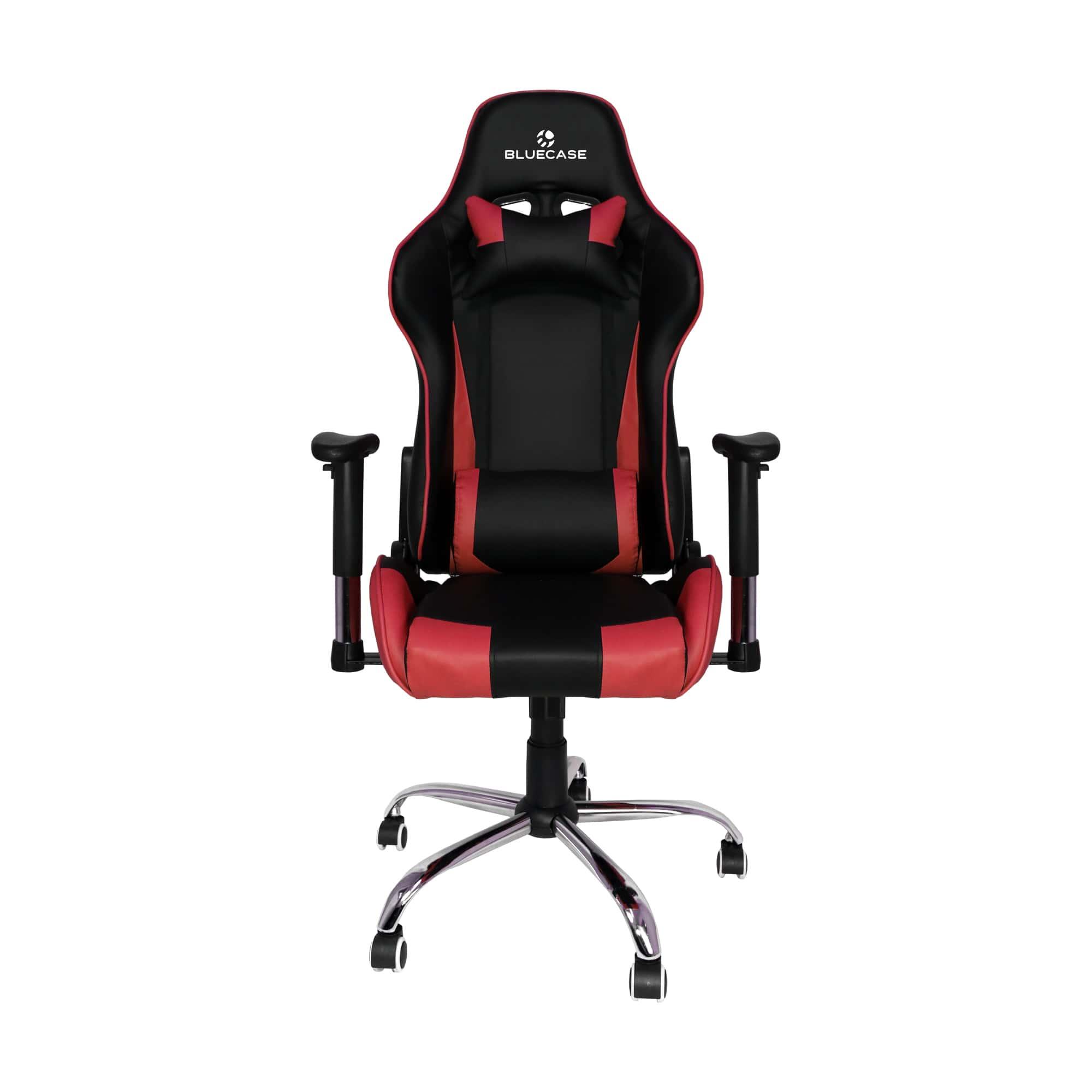 Cadeira Gamer Bluecase Titanium Vermelho/Preto - BCH-07RBK