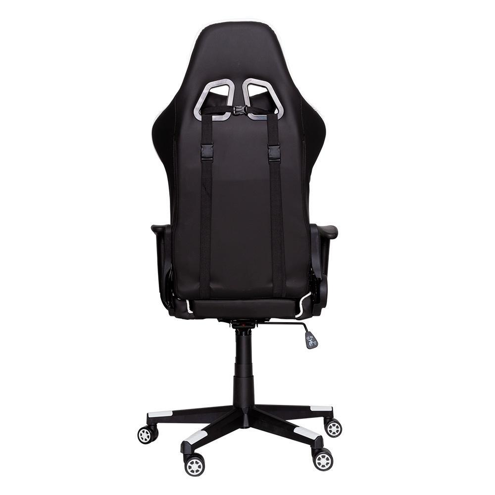 Cadeira Gamer Dazz Prime-X Preto/Branco, 62000011