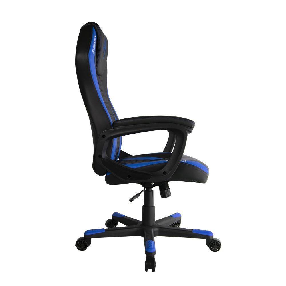 Cadeira Gamer Elements Elemental Acqua Azul