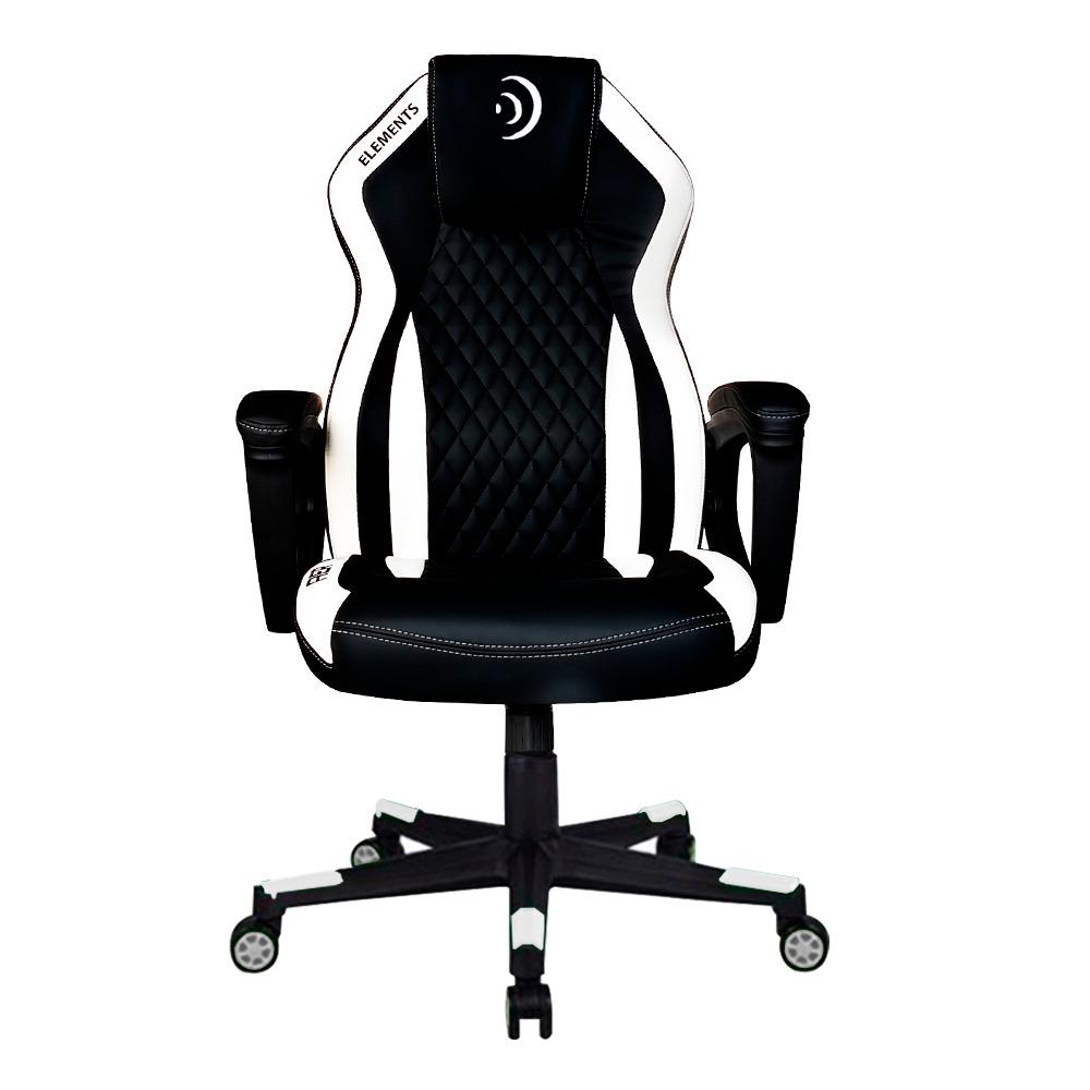 Cadeira Gamer Elements Elemental Aer Branca