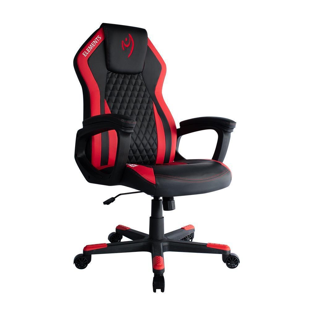 Cadeira Gamer Elements Elemental  Ignis Vermelha
