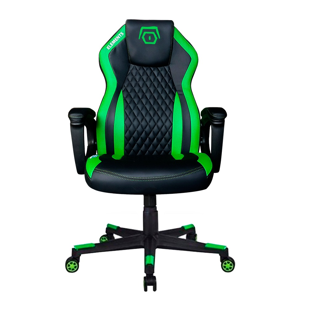 Cadeira Gamer Elements Elemental Terra Verde