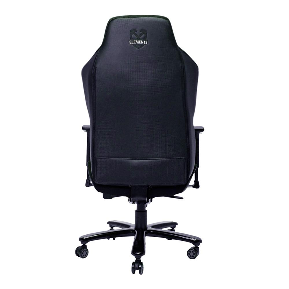 Cadeira Gamer Elements Magna NEMESIS, Reclinável, Preta.