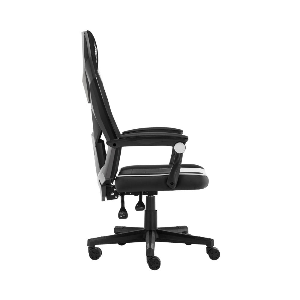 Cadeira Gamer FirstPlayer P01 Black and White - P01BlackandWhite