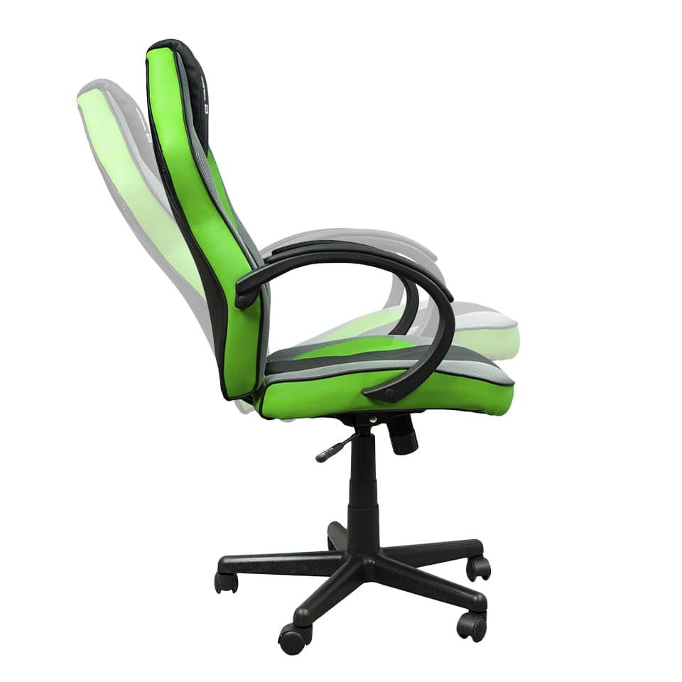 Cadeira Gamer Hoopson Preta e Verde - HP-CG504