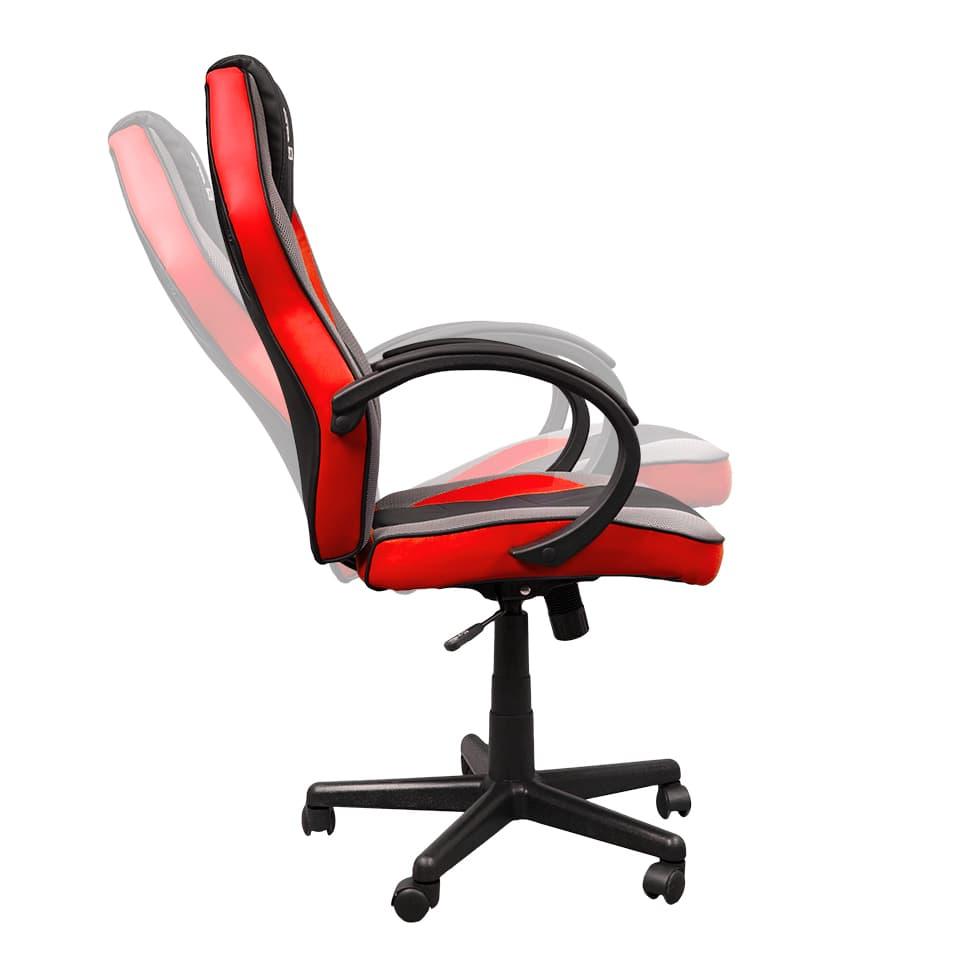 Cadeira Gamer Hoopson Preta e Vermelha - HP-CG502