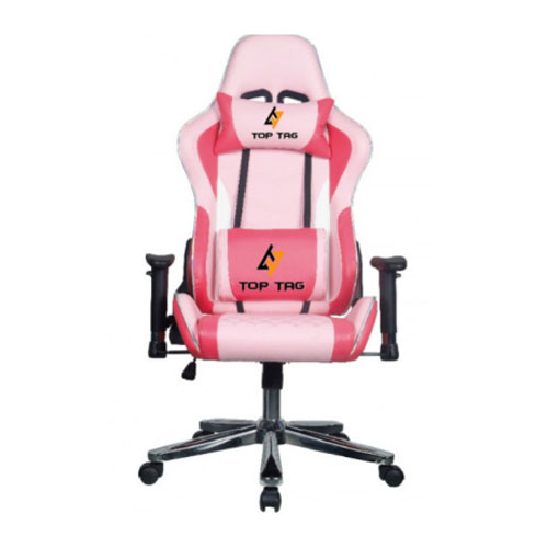 Cadeira Gamer Top Tag Giratoria ROSA - HS114PKI