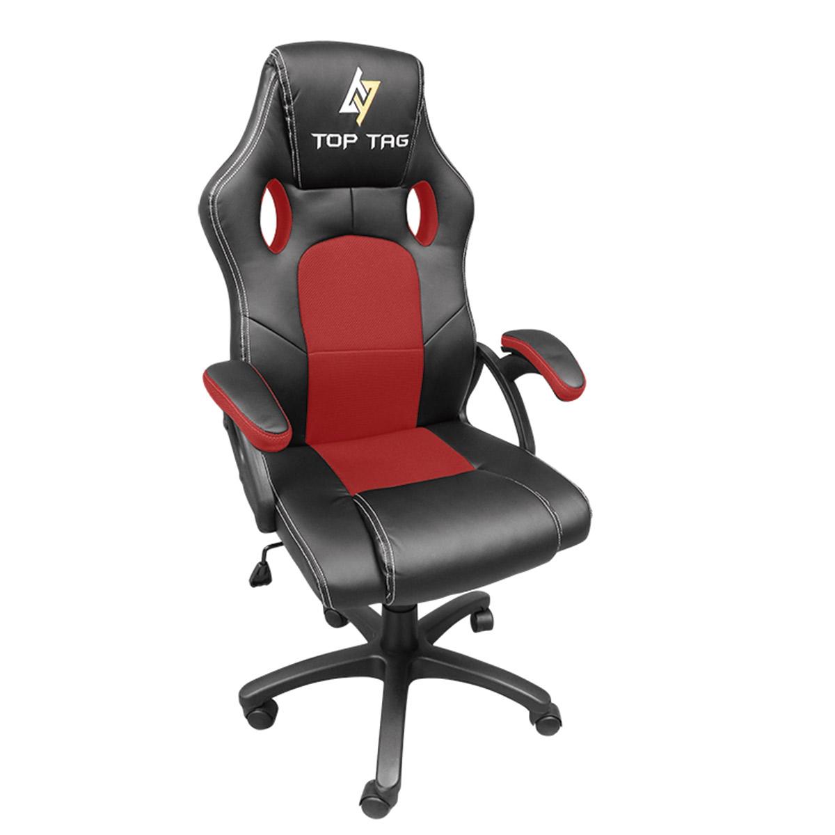 Cadeira Gamer Top Tag Giratoria VERMELHO - HS2706RD