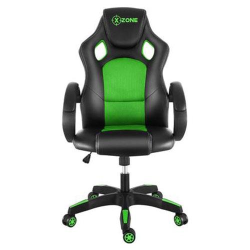 Cadeira Gamer X-Zone Preto e Verde - CGR-02
