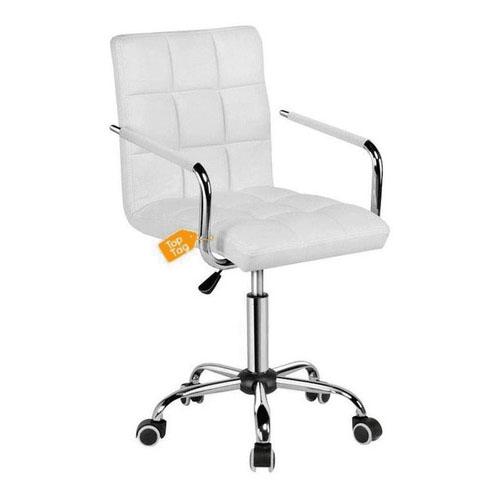 Cadeira Top Tag oFFICE Executiva Giratória Branca - HS1303
