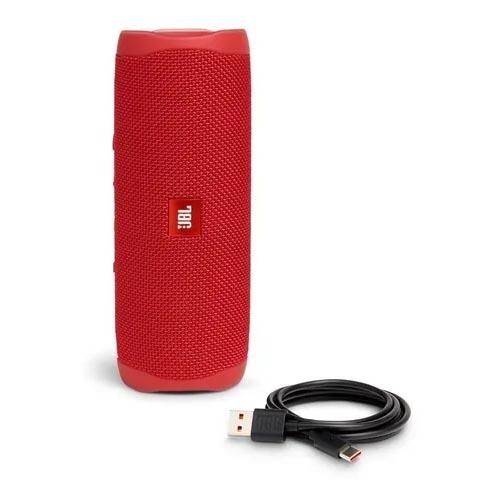 Caixa de Som JBL Flip 5, 20W, Vermelha, Bluetooth, Resistente a água
