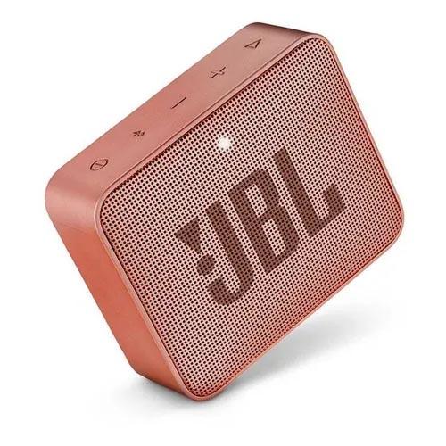 Caixa de Som JBL Go 2, Bluetooth, À Prova D´Água, 3W, Cinnamon- JBLGO2CINNAMON
