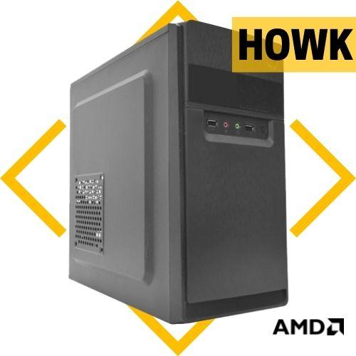 Computador Howk AMD FX-4300, BMB78, 4GB DDR3, SSD 120GB, 200W, Gabinete Sem S.O