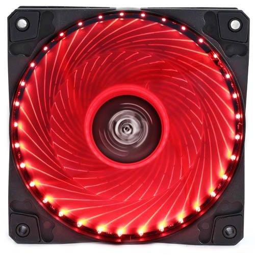 Cooler Fan Hoopson CL-033V Vermelho
