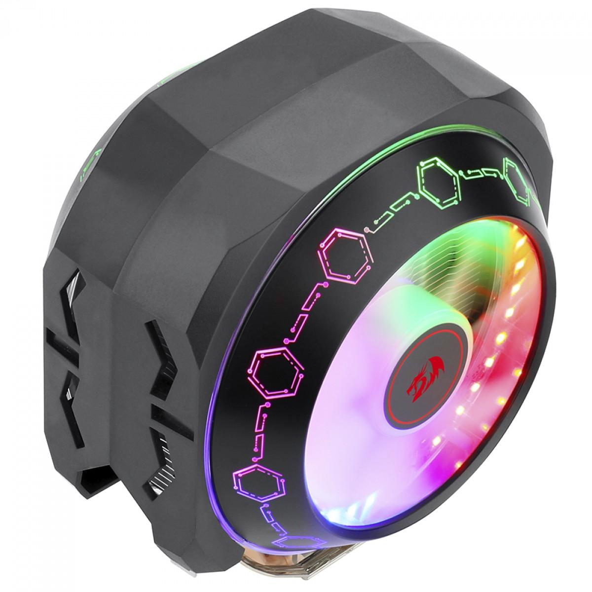 Cooler para Processador Redragon Odin, Rainbow, 140mm, Intel-AMD, CC-9202