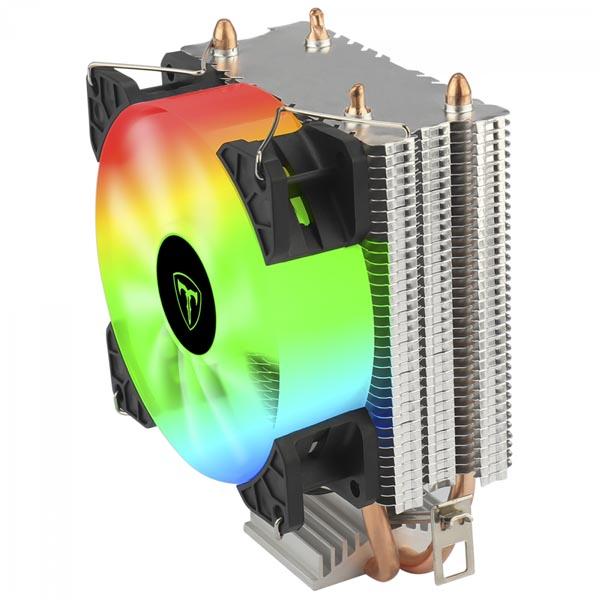 Cooler para Processador T-Dagger Idun M, 90mm, Rainbow, Intel-AMD, T-GC9109 M