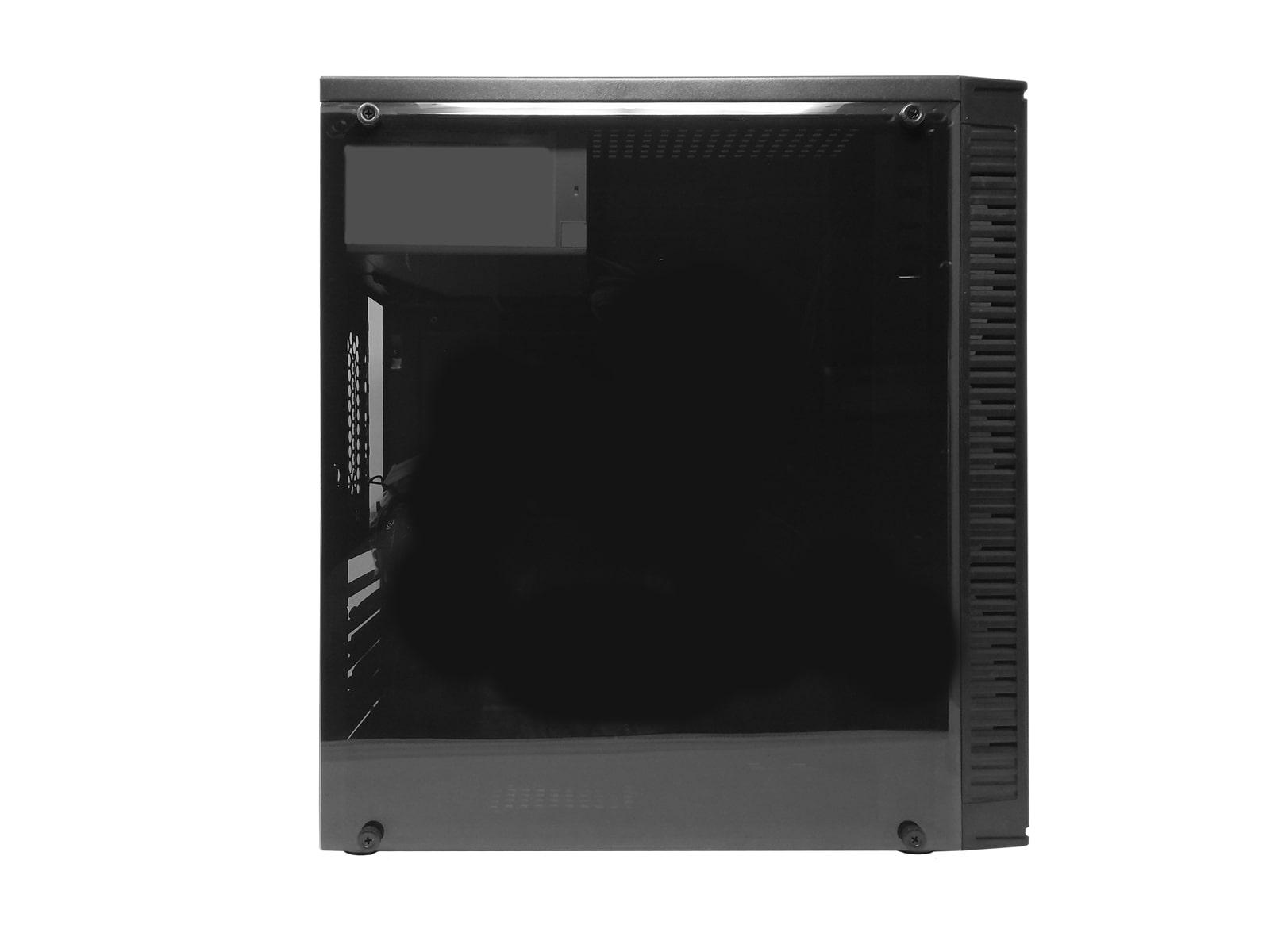 Gabinete Bluecase BG-2514 SEM FONTE, USB 3.0, Preto com Lateral em Acrílico - BG2514GCASE