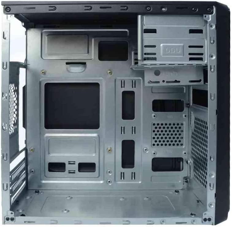 Gabinete C3Tech Micro-Atx, Preto, c/ Fonte 200W - MT-24V2BK