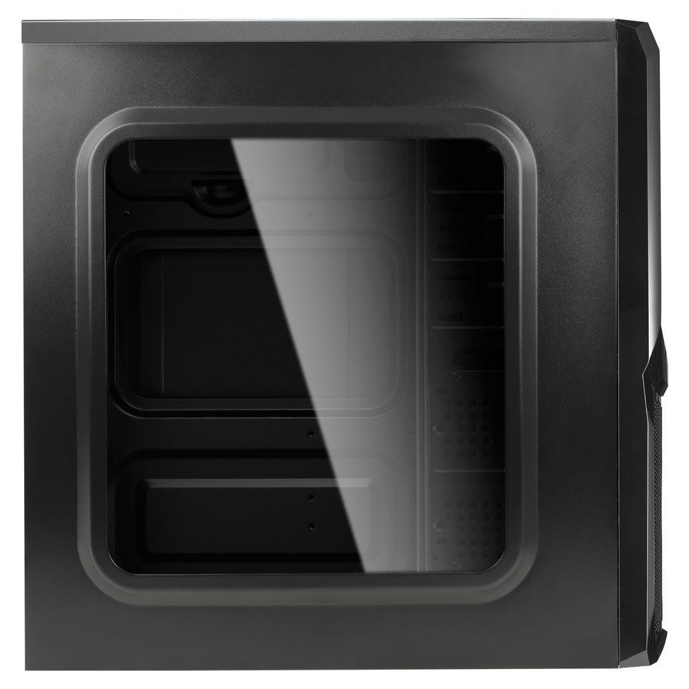 Gabinete Gamer Aerocool V3X Window Preto, Sem Fonte.