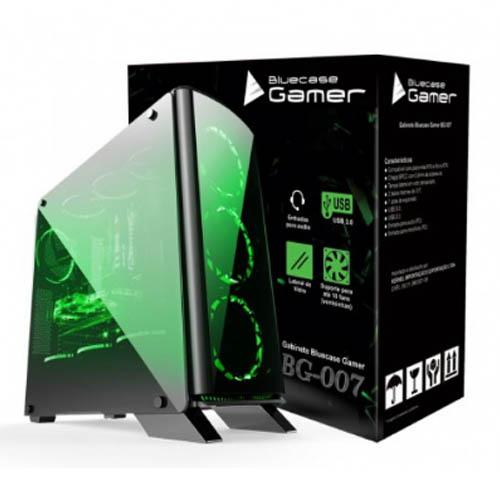 Gabinete Gamer Bluecase BG-007 sem Fonte.