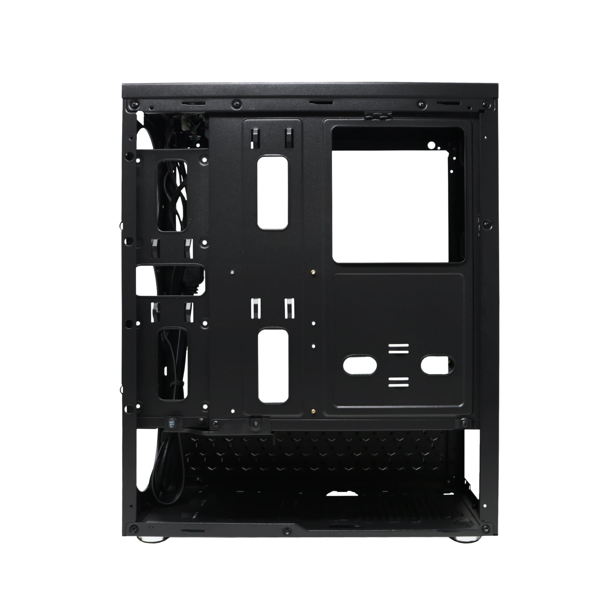 Gabinete Gamer Bluecase BG-018 Black, Sem Fonte - BG018BGCASE