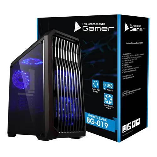 Gabinete Gamer Bluecase BG-019, Sem Fonte.
