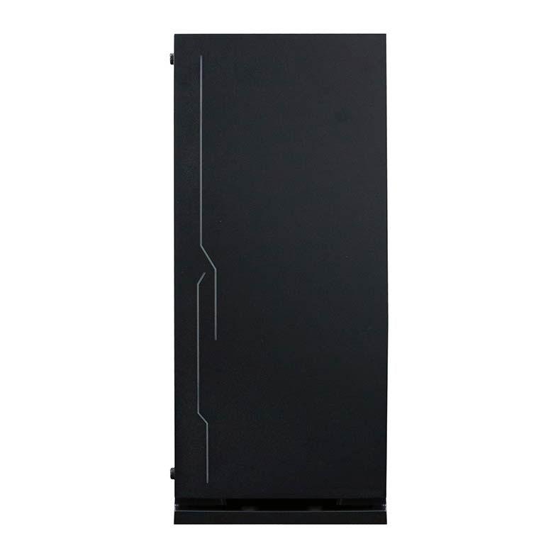 Gabinete Gamer Bluecase BG-028 RGB, Lateral Acrílico, Preto - BG028GCASE