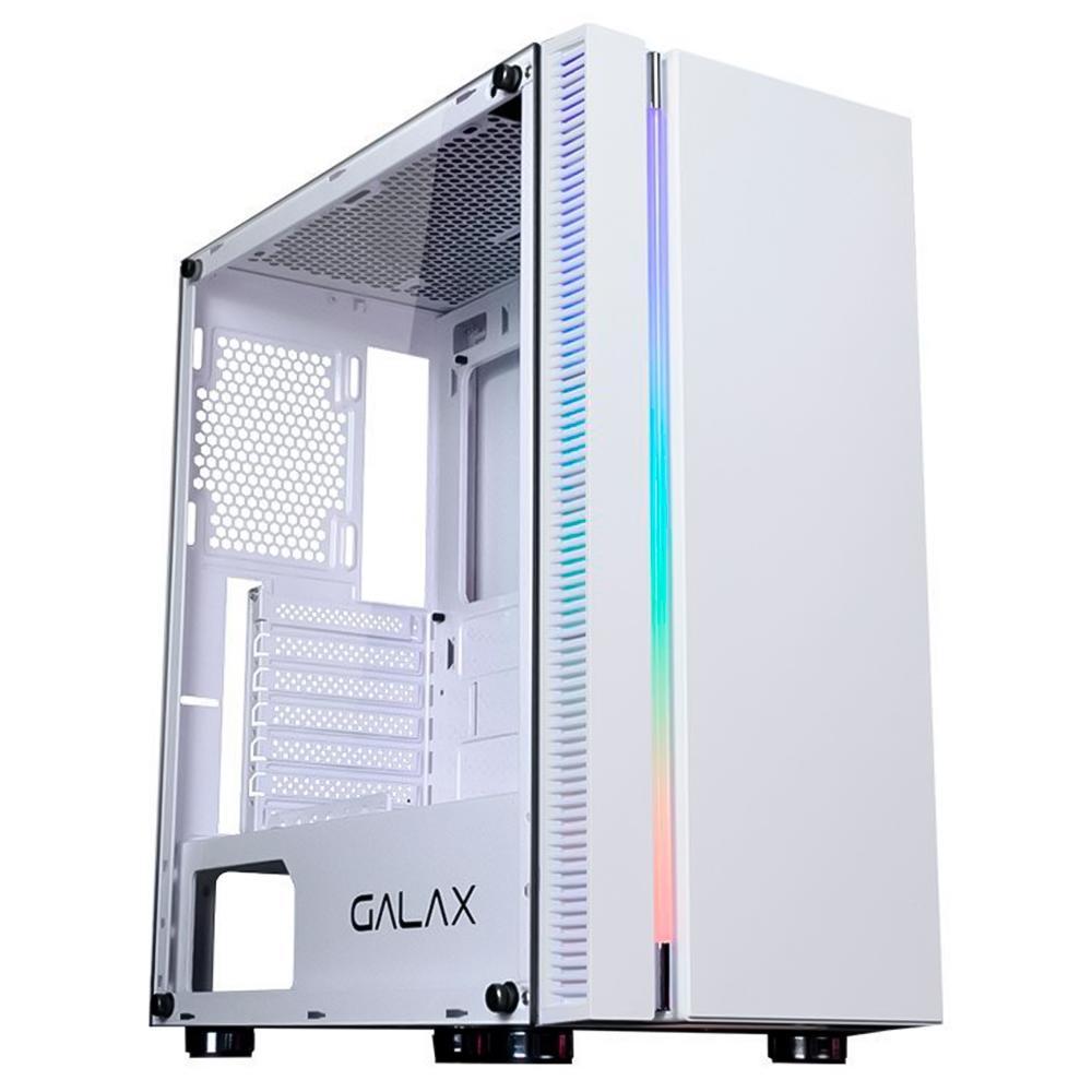 Gabinete Gamer Galax Quasar Branco- GX600-WH