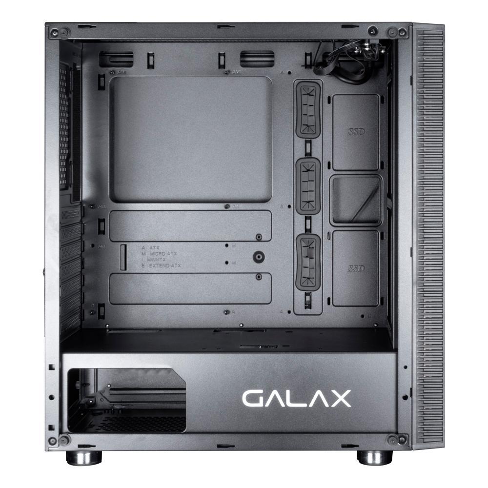 Gabinete Gamer Galax Quasar Preto - GX600