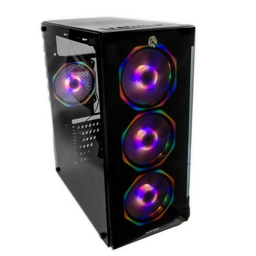 Gabinete Gamer Hayom C/ 4 Fans RGB - GB1701