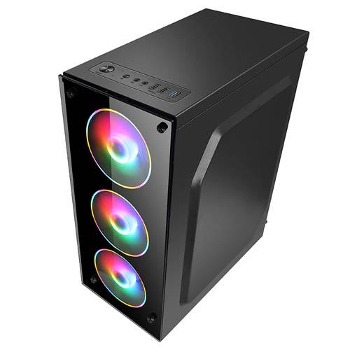 Gabinete Gamer Hayom Com 4 Fans RGB - GB1709