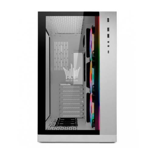 Gabinete Gamer Lian li 011 Dynamic Galax HOF Branco Vidro Temperado