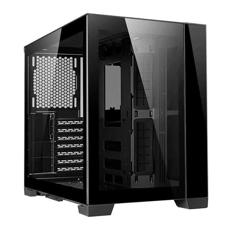 Gabinete Gamer Lian Li O11 Dynamic Mini Preto - O11DMINI-X