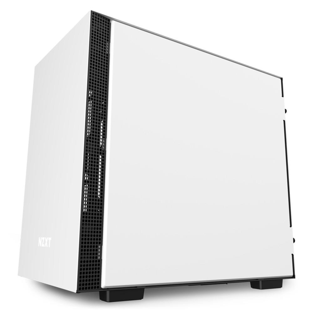 Gabinete Gamer NZXT Preto/Branco H210I-W1 - CA-H210I-W1