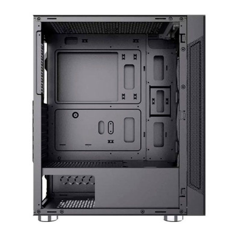 Gabinete Micro ATX Gamer BlueCase BG-020 RGB C/ Tampa Lateral em Vidro e USB 3.0 Frontal