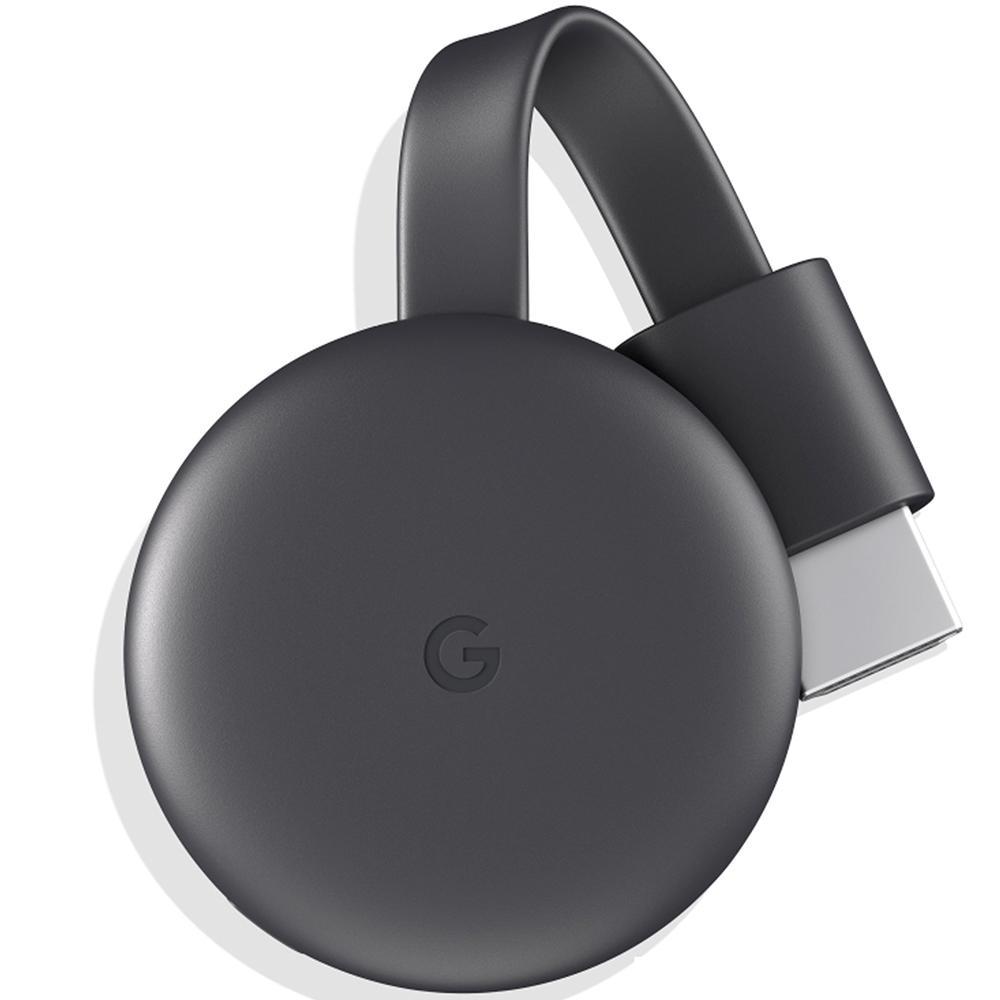 Google ChromeCast 3, HDMI, Preto - NC2-6A5