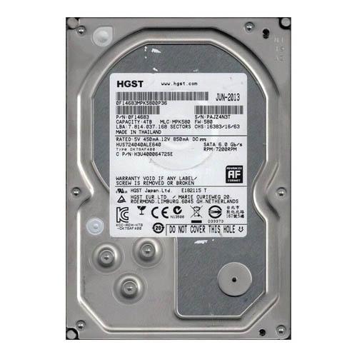 HD HITACHI 4TB 7200RPM - H3U40006472SE - OEM