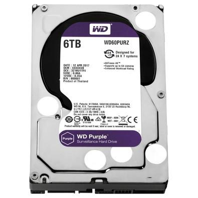 HD Western Digital Purple WD 6TB - WD60PURZ