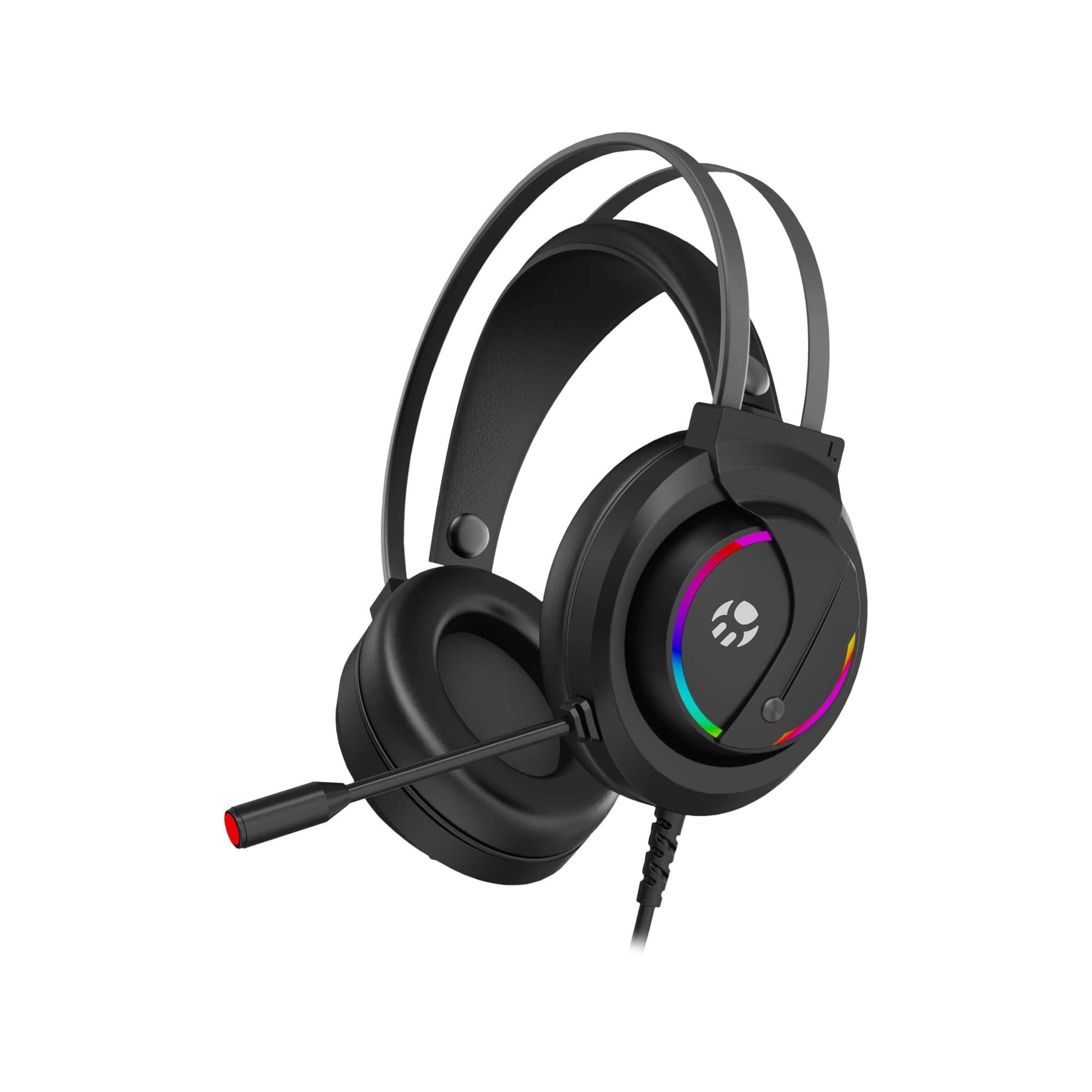 Headset Gamer Bluecase, Led 7 Cores, P2 / USB, c/ Adaptador para PS4 - BHG-501